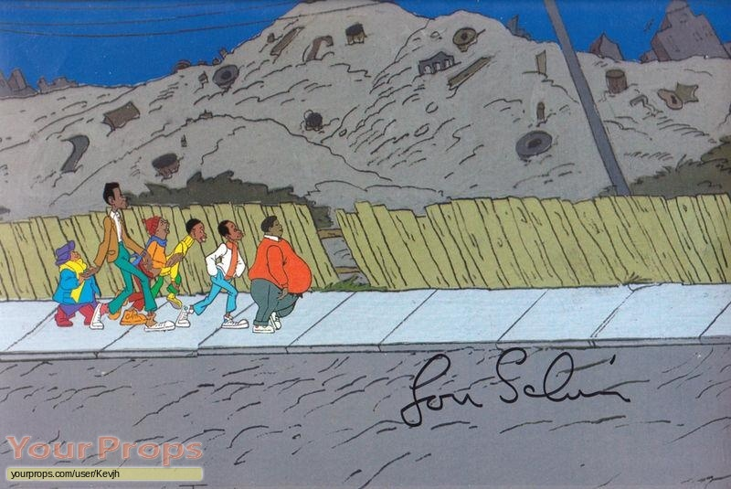 Fat Albert and the Cosby Kids original production artwork