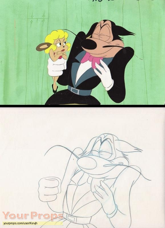 The New Adventures of Mighty Mouse original production artwork