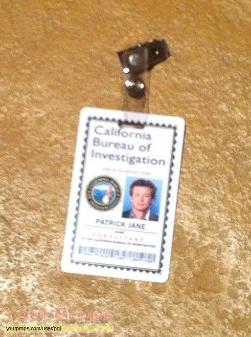 The Mentalist replica movie prop