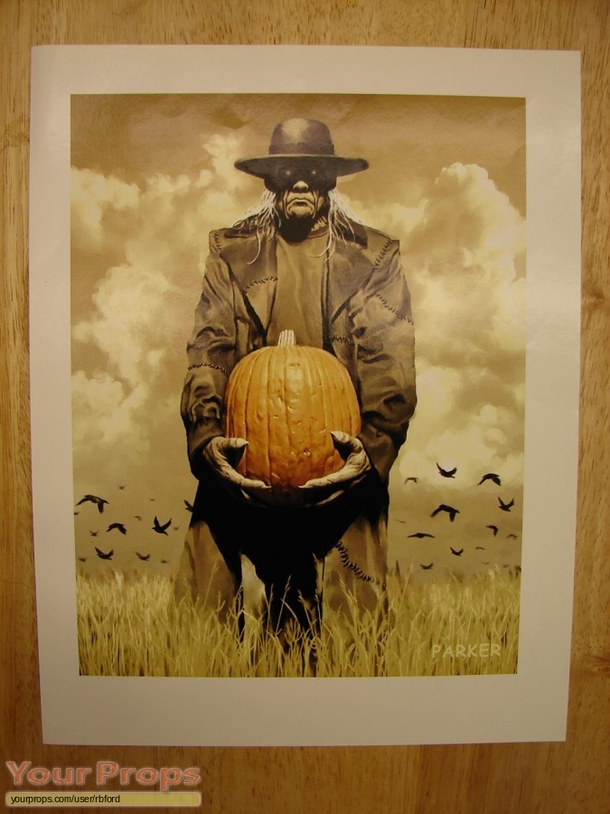 Jeepers Creepers original production artwork