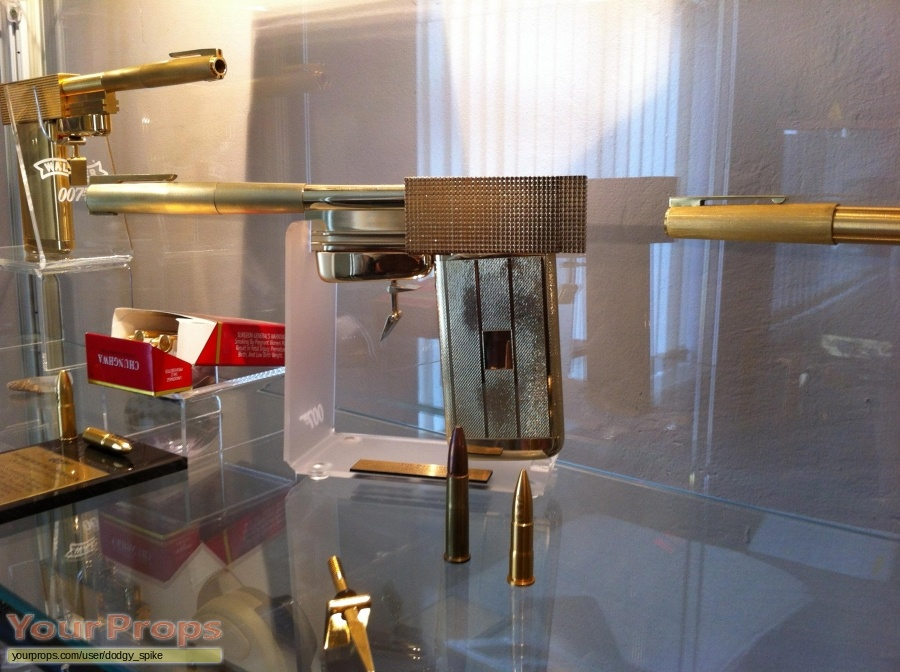 James Bond  The Man With The Golden Gun replica movie prop