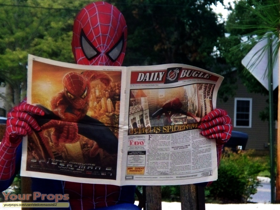 Spider-Man 2 replica movie prop