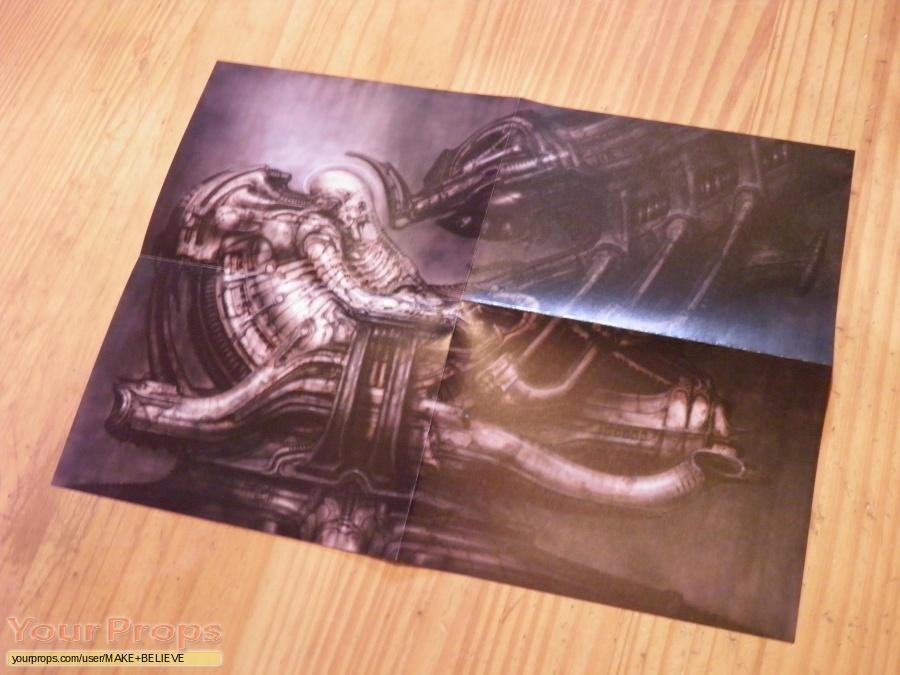 Alien replica production artwork