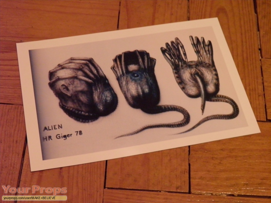 Alien replica production artwork