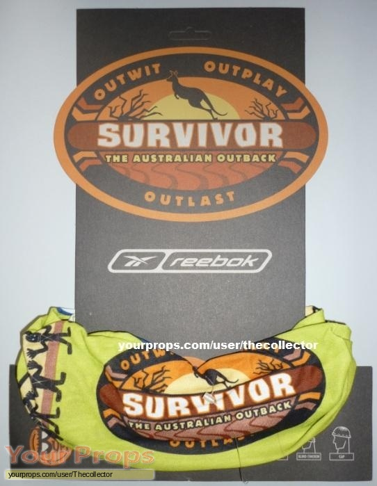 Survivor The Australian Outback original movie prop