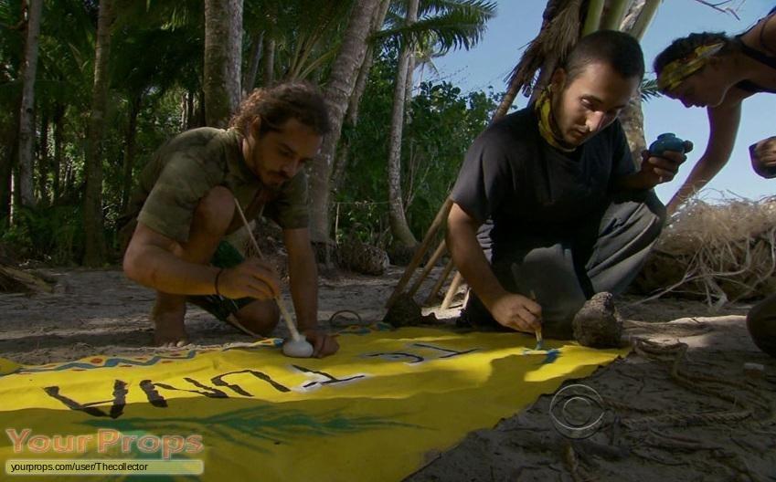 Survivor South Pacific original movie prop