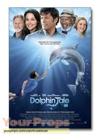 Dolphin Tale replica movie prop