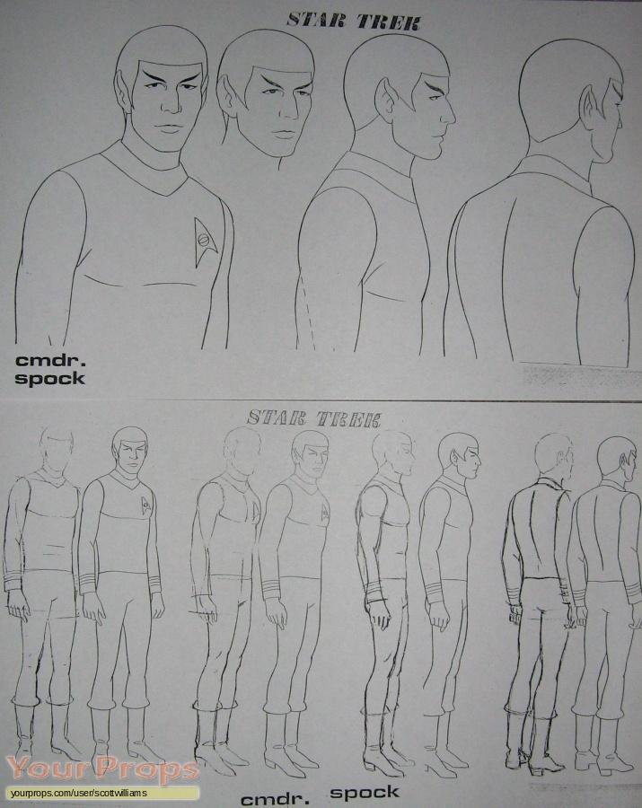 Star Trek  The Animated Series  (1973-1975) original production artwork