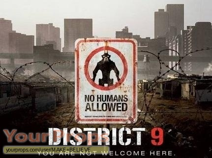 District 9 replica movie prop