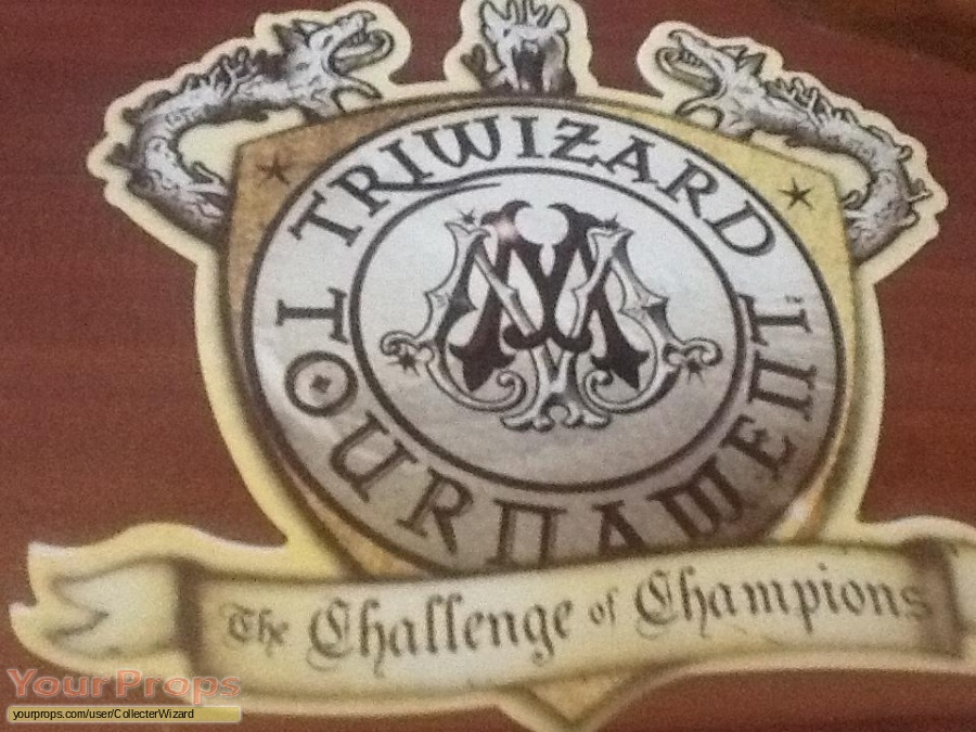 Harry Potter and the Goblet of Fire The Noble Collection movie prop