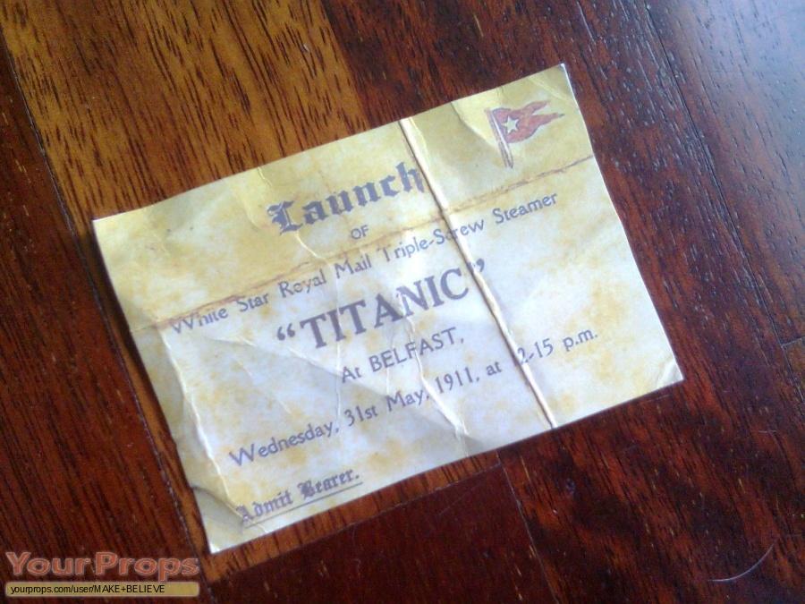 Titanic replica movie prop