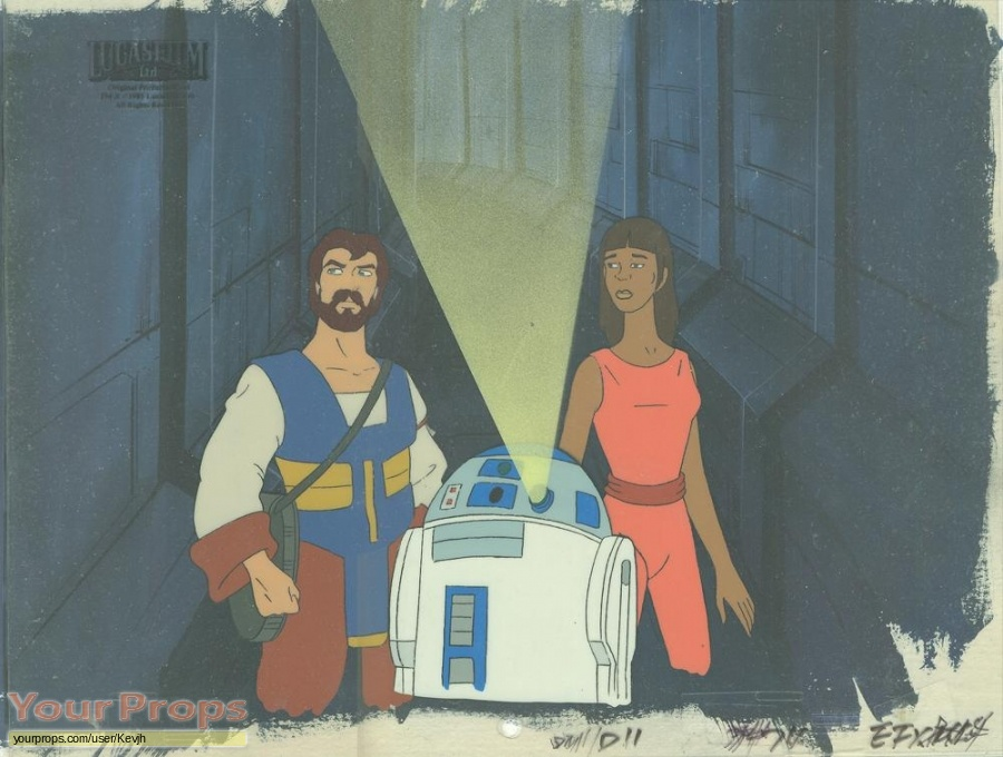 Star Wars  Droids original production artwork