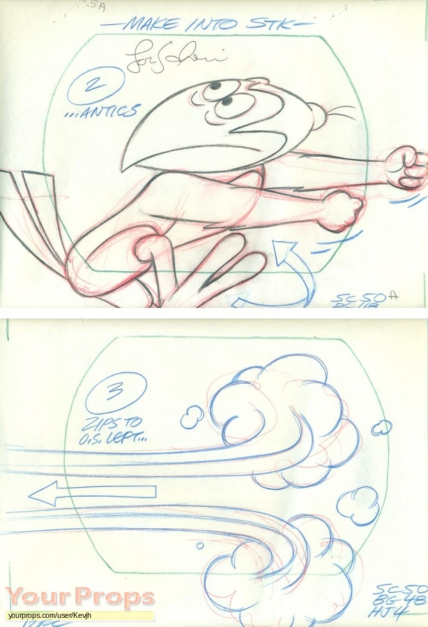 The Heckle and Jeckle Show (TV Series 1956 1971) original production artwork