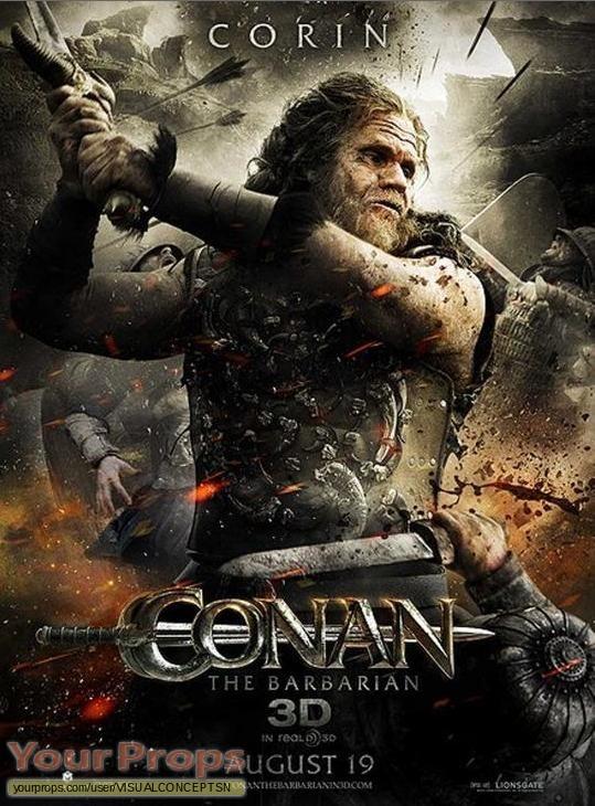 Conan original movie prop