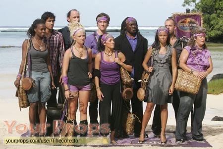 Survivor Samoa original movie prop