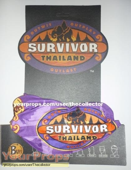 Survivor Thailand original movie prop