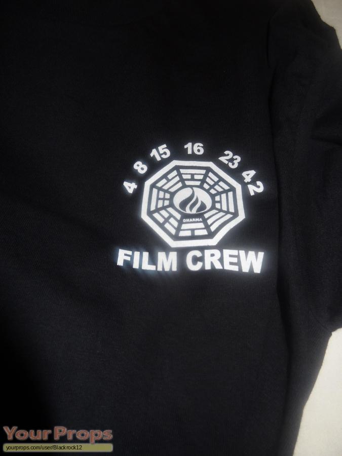 Lost original film-crew items