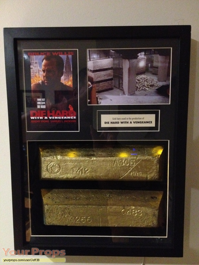 Die Hard  With A Vengeance original movie prop