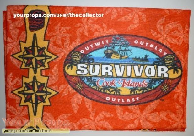 Survivor Cook Islands original movie prop
