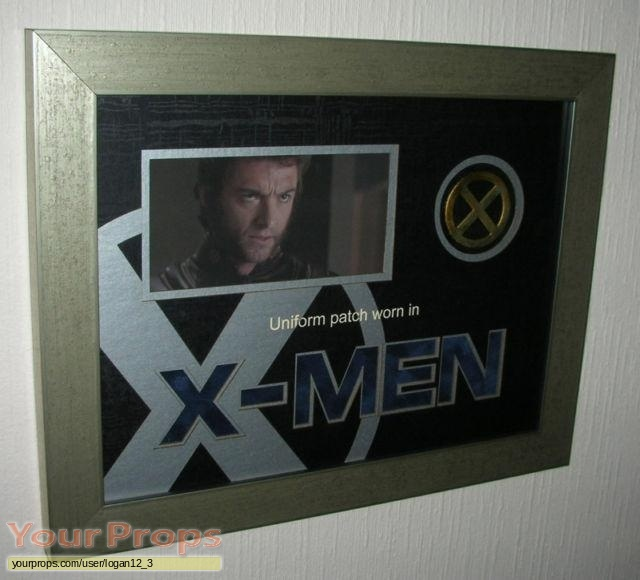 X-Men swatch   fragment movie costume