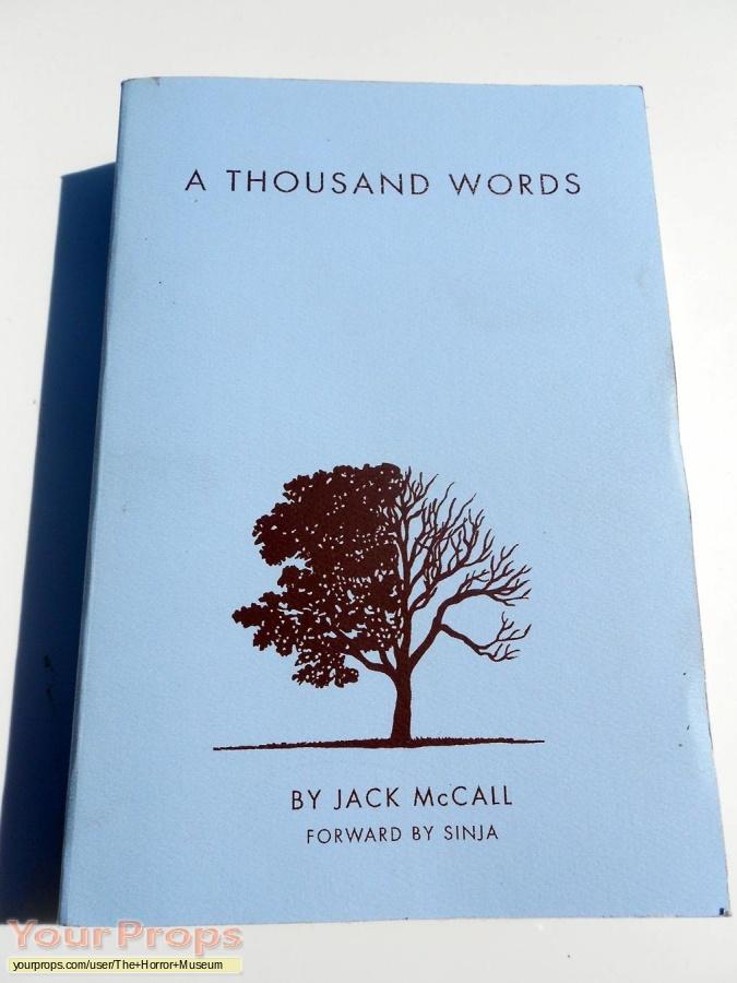 A Thousand Words original movie prop