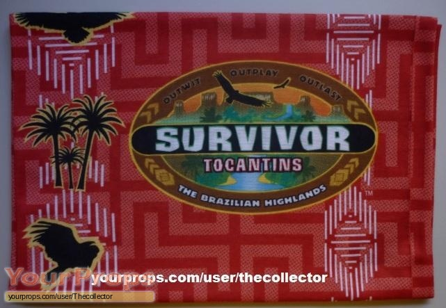Survivor Tocantins original movie prop