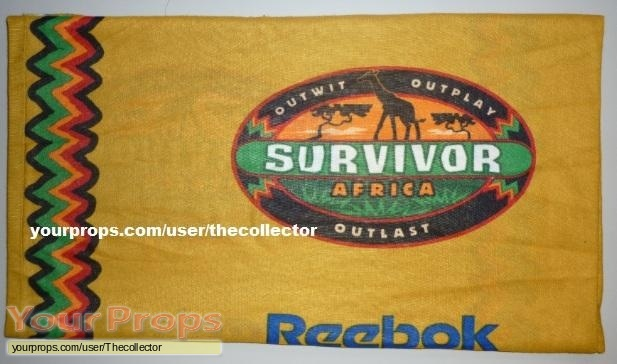 Survivor Africa original movie prop