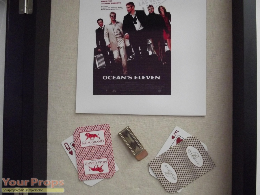 Oceans Eleven replica movie prop