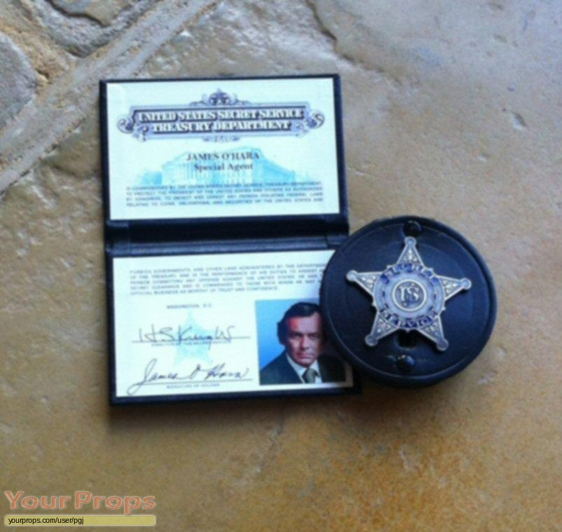 OHara  U S  Treasury replica movie prop