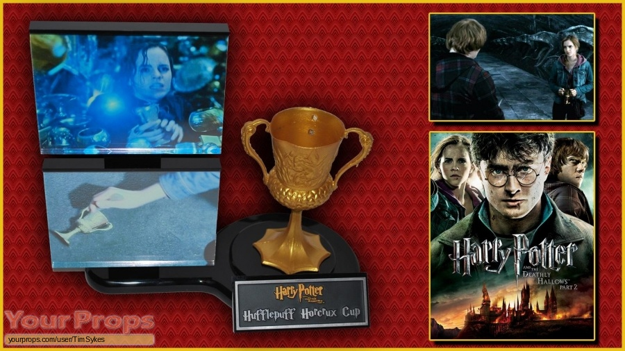 Harry Potter and the Deathly Hallows  Part 2 original movie prop