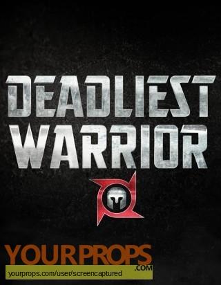 Deadliest Warrior original movie prop