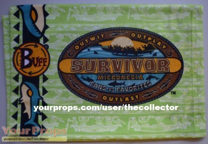 Survivor Micronesia Fans vs Favorites original movie prop