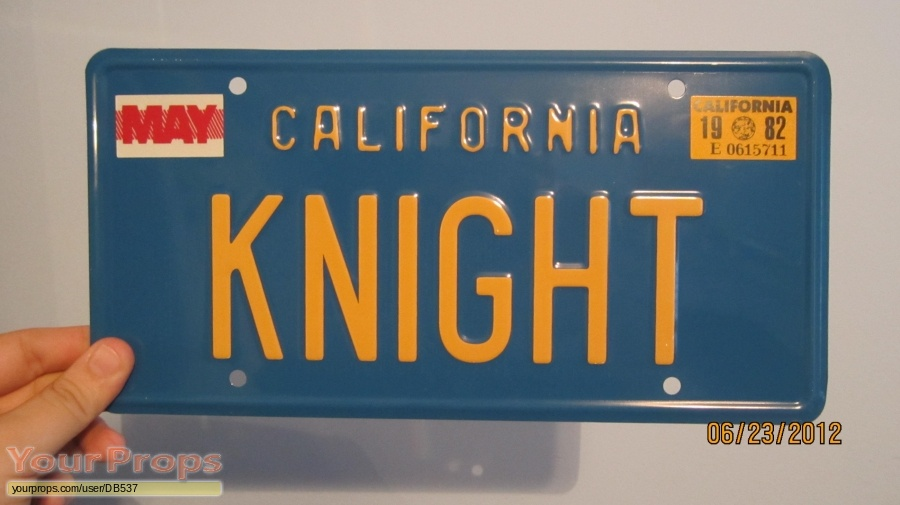 Knight Rider replica movie prop