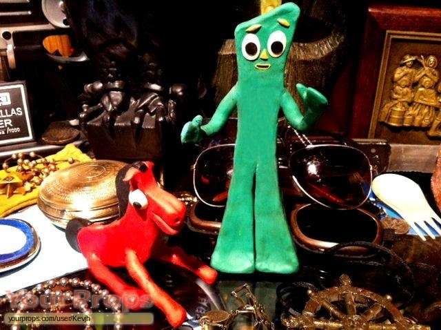 Gumby Adventures original movie prop