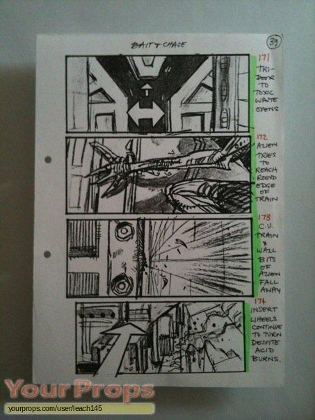 Alien 3 original production material