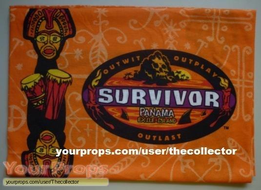 Survivor Panama - Exile Island original movie prop