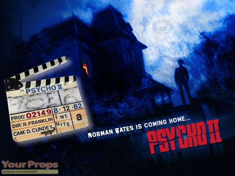Psycho 2 original production material