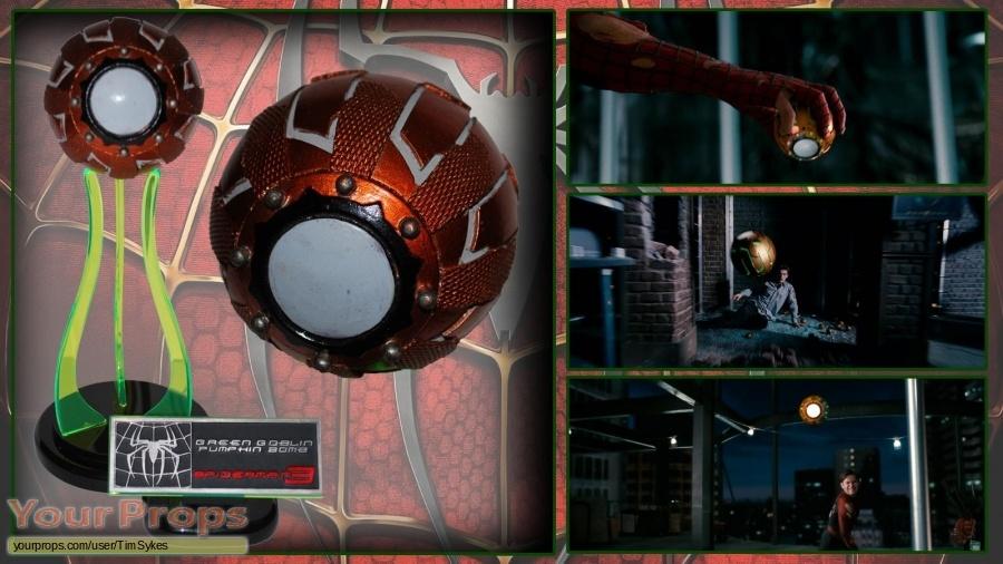 Spider-Man 3 original movie prop