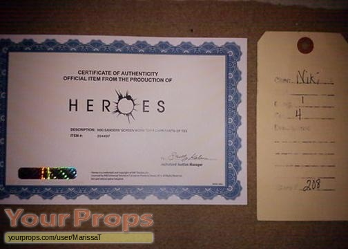 Heroes original movie costume