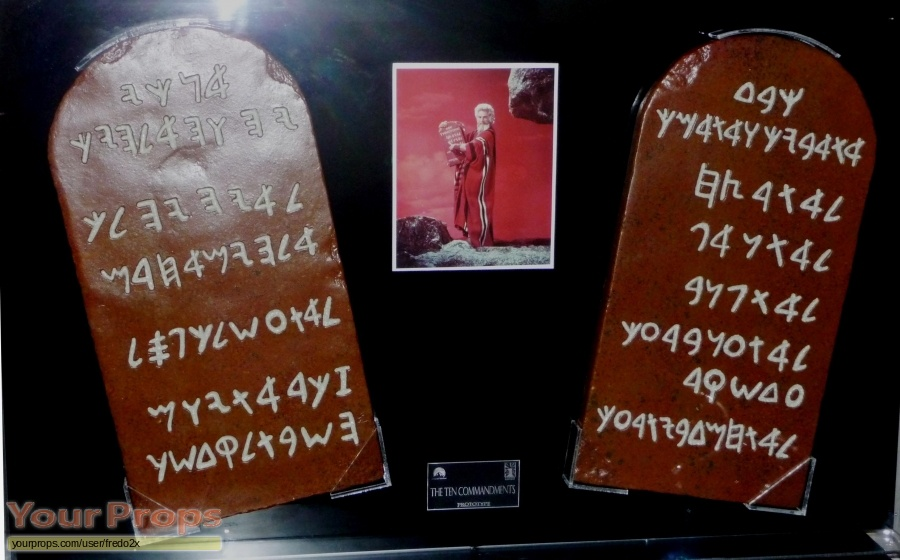 The Ten Commandments Icons Replicas movie prop