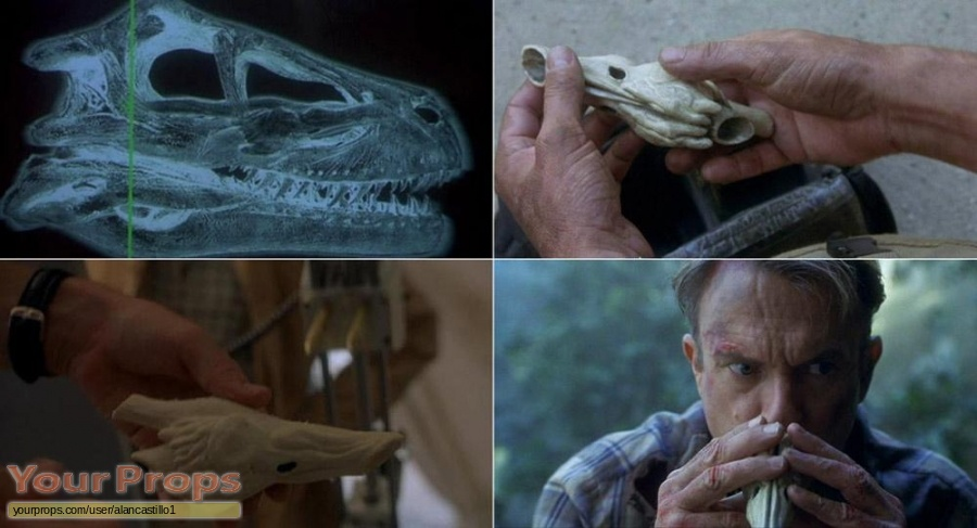 Jurassic Park 3 replica movie prop