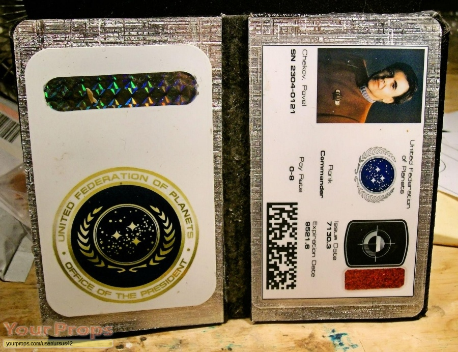 Star Trek III  The Search for Spock replica production material