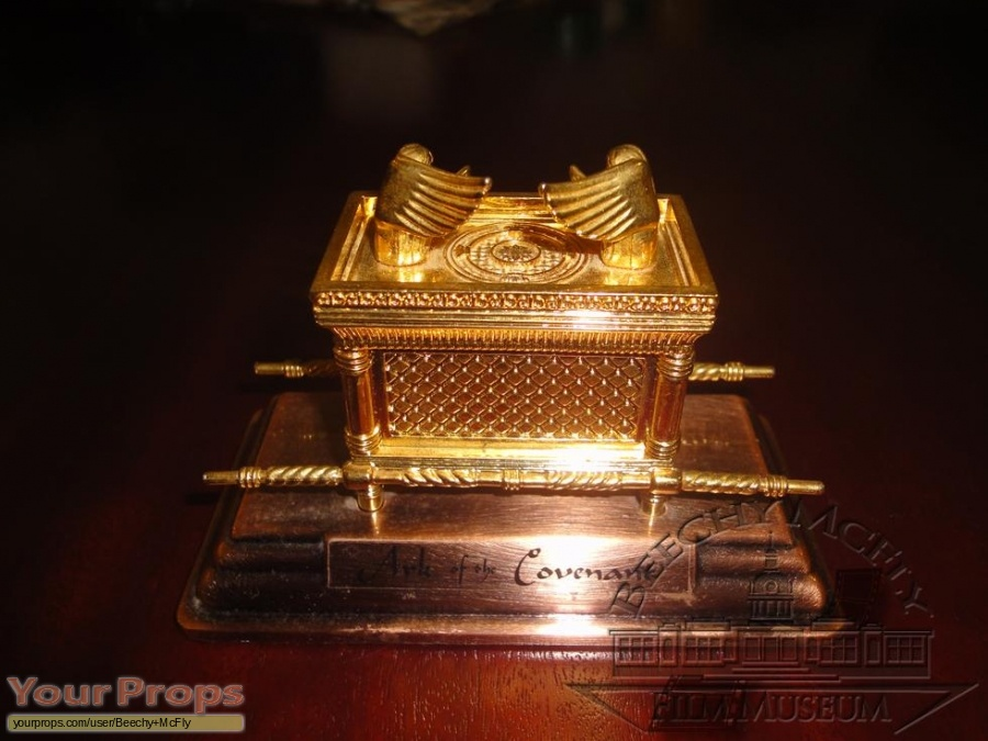 The raiders of the lost ark ark of the covenant replica movie prop