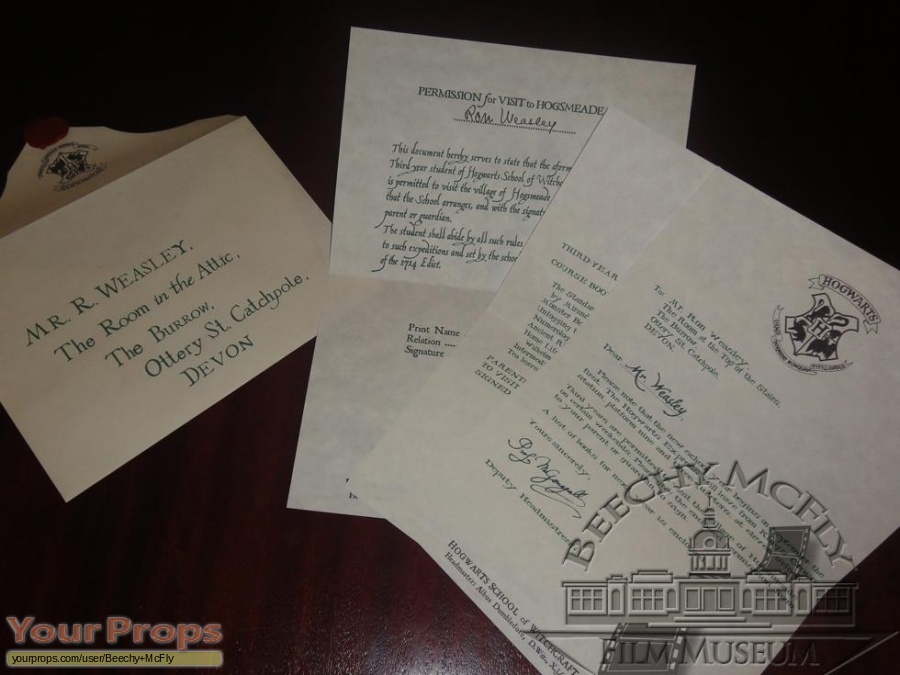 Harry Potter and the Prisoner of Azkaban replica movie prop