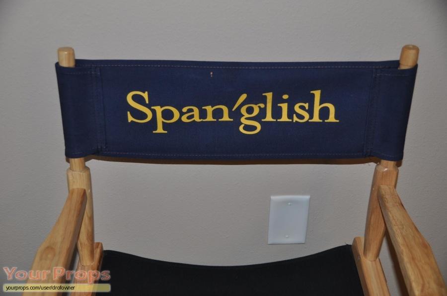 Spanglish original production material