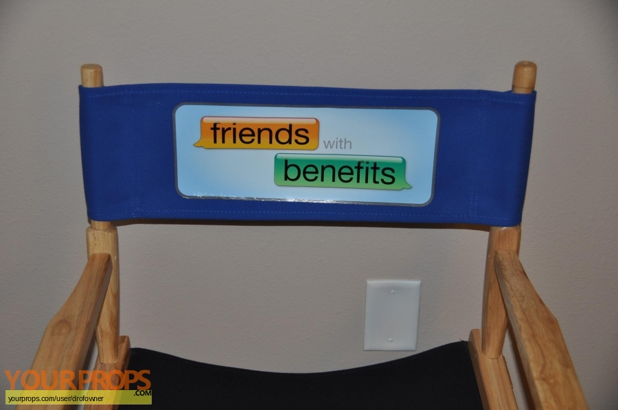 Friends with Benefits original production material