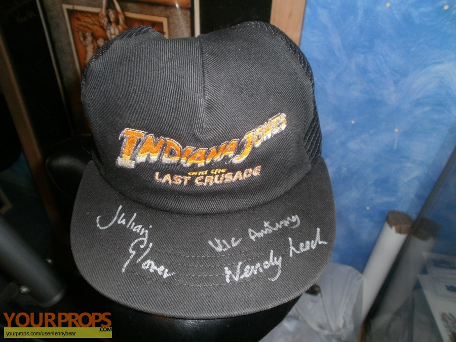 Indiana Jones And The Last Crusade original film-crew items