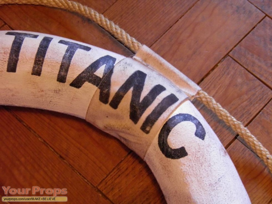 Titanic replica movie prop