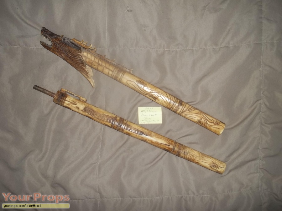 Pitch Black original movie prop weapon