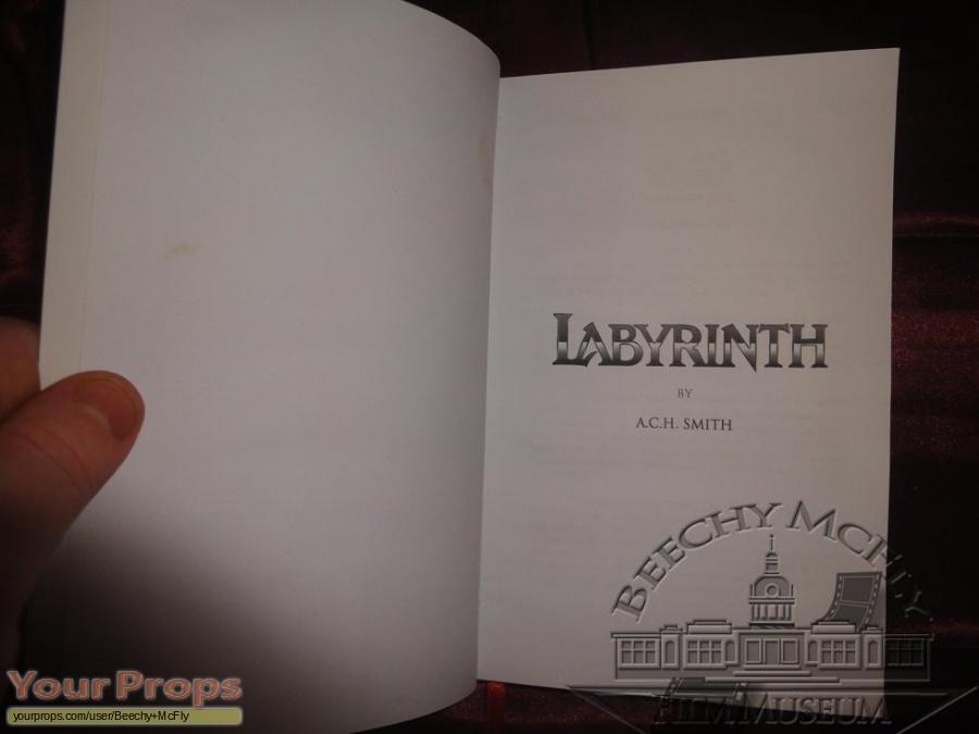 Labyrinth replica movie prop